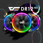 Aigo Aurora DR12 3IN1 Kit 3 Pack RGB LED 120mm High Performance Case Cooling Fan