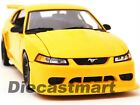 2000 FORD MUSTANG SVT COBRA 118 DIECAST MODEL CAR by MAISTO 31872 YELLOW NEW
