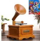 WOODEN PHONOGRAPH MUSIC BOX  Toy Story