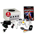 Gaecube Konsole weiss (BWare) #30B + ähnl. Controller + Spiel Ultimate Spiderman