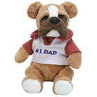 TY Beanie Baby - DAD 2007 the Bulldog Internet Exclusive