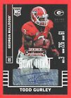 2015 Contenders Draft Picks #146 Todd Gurley Bowl Ticket Auto Rookie Card 62 99