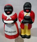 New Black Americana Aunt Jemima  Uncle Mose SP Shakers