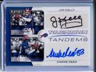 Jim Kelly Andre Reed 2017 Panini Playoff Dual Auto Autograph Tandems SP 05 10