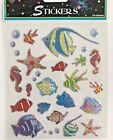 1 sheet 27 stickers  tropical fish stickers scrapbooking seahorse clown fish