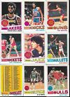 1977-78 Topps Basketball Card Complete Set - 132 cards