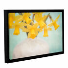 ArtWall Cora Niele's Daffodils Gallery Wrapped Floater-framed Canvas