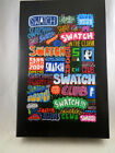 SWATCH New Street Club By GREMS Mint with Spray Paint Limited