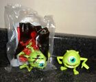 Monsters Inc McDonalds Happy Meal Toy MikeWazowski  Door 4 Lot 1 New 1 Used JB