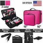Extra Large Makeup Bag Vanity Case Cosmetic Artist Storage Beauty Box Portable