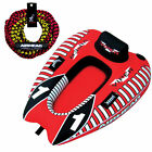 AIRHEAD Viper 1 Single Rider Cockpit Inflatable Towable Tube w Tow Rope AHTR 22