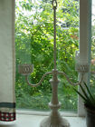 ANTIQUE TABLE LAMP FIXTURE,VERY OLD PIECE FROM GRADMA'S HOUSE,HOLDS 2 BULBS