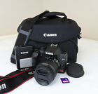 Canon EOS Rebel XS 1000D 101 MP Black DSLR Digital Camera Kit w 18 55mm IS Lens