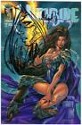 WITCHBLADE FAN EDITION SIGNED MICHAEL TURNER REMARKED SKETCH OA JAY COA 7 25