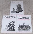 Lot of 3 Children's Larry Shles Squib the Owl Books. They are all signed.