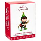 2017 Hallmark North Pole Tree Trimmers Tree Watering Elf Ornament 5th in Series