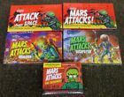 MARS ATTACKS 5 SEALED BOXES HERITAGE BOTH VERSIONS INVASION,OCCUPATION,REVENGE