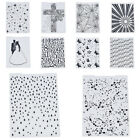 Plastic Embossing Folders Template DIY Embossing Scrapbooking Paper Card Craft
