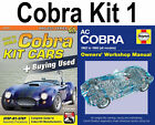 Shelby Cobra Ac 1962-1968 Kit Car 2 Book Set Workshop Manual How To Build