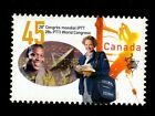 WORLD CONGRESS OF PTTI LABOUR UNION, CANADA 1997, MINT NH