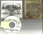 Eighteen Visions BURN HALO Dirty Little Girl TST PRESS PROMO DJ CD Single 2008