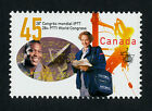Canada 1657 MNH 28th PTTI World Congress, Labour Union