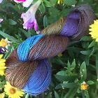 HAND PAINTED DYED SOCK YARN 90 WOOL 10 NYLON LEGEND 1 SPIDER GODDESS LK