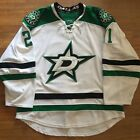 Authentic Game Worn 2014 2015 Dallas Stars Antoine Roussel White Jersey