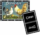 ROOSTER HEN CHICKENS Dishwasher MAGNET Clean Dirty SHIP FREE