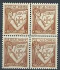 Mozambique 1933 Sc# 251 Portugal holding Lusiads block 4 MNH