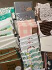 Pretty Note Cards Lot Of 25 8 Piece Blank Paper Card Envelope Set New