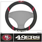 New NFL San Francisco 49ers Car Truck Embroidered Steering Wheel Cover