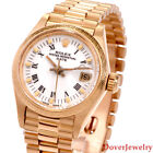 Rolex Oyster Perpetual DateJust 18K Gold 26mm Ladies Watch 62.1 Grams NR