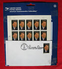 RONALD REAGAN SET of FIRST DAY OF ISSUE STAMPS ENVELOPE SEALED MINT FEB 9 2005