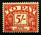 nystamps Great Britain Stamp  J54 Used 140