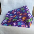 CAT KITTEN TOY PACIFIC COAST CRINKLY PURPLE BAG TO PLAY IN OR HIDE 135x12x7