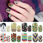 Bolish Nail Art Decals Adhesive Manicure Stickers Foils Wraps 8 Styles TB