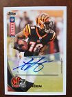 2012 Topps Kickoff A.J. Green AUTOGRAPH 04 10 AUTO BENGALS Rare