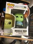 Funko Regular Show Muscle Man Pop #50 Very Rare Adult Owned