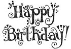 Unmounted Rubber Stamps Friendship Sayings Friendship Happy Birthday Stamps
