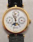 VTG Gucci Triple Date Moonphase Watch