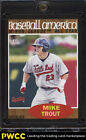 2011 Topps Heritage America Minor League Black Mike Trout RC #239 62 (PWCC)