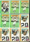 Huge Lot of (2,089) 1978 Topps Football Cards with stars & rookies