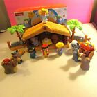 2002 Fisher Price Little People A Christmas Story Nativity Set 12 Figures