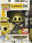Funko Pop! Games Cuphead Legendary Chalice Glow #314 LE 1500 2018 E3 Exclusive