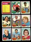 1976 TOPPS FOOTBALL PARTIAL SET 375 528 MINT *92577