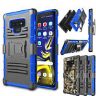 For Samsung Galaxy SM-N960U / Note 9 Case Shockproof Clip Holster Stand Cover