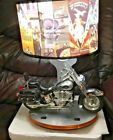 Harley Davidson Motorcyle Lamp with Night Light Sounds  Harley Images Shade