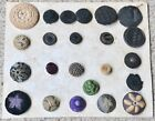 Needle Work Victorian Buttons Cardboard Mounted