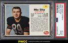 1962 Post Cereal Football Mike Ditka ROOKIE RC #111 PSA 9 MINT (PWCC)